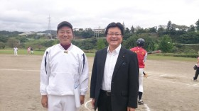 西村明宏衆議院議員と村上智行県議