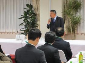 大島理森東日本大震災復興加速化本部長の講演