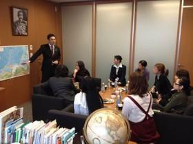 熊谷大参議院議員との外交・防衛政策に関する勉強会