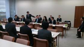 熊本県からの派遣職員との意見交換(宮城県議会)
