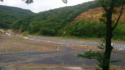 駒の湯温泉被災現場