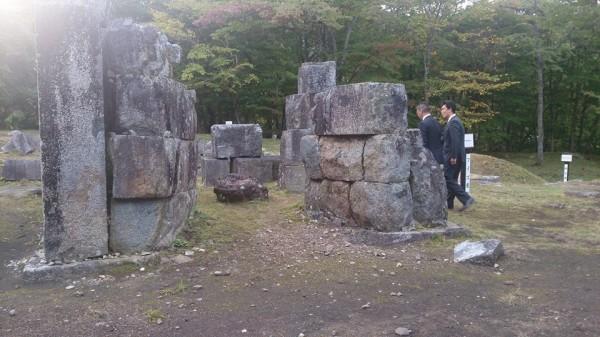 世界文化遺産登録への取り組み(橋野高炉跡)