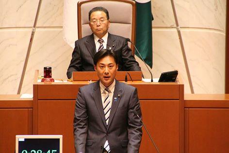 佐々木幸士(青年部長・県議会議員)一般質問