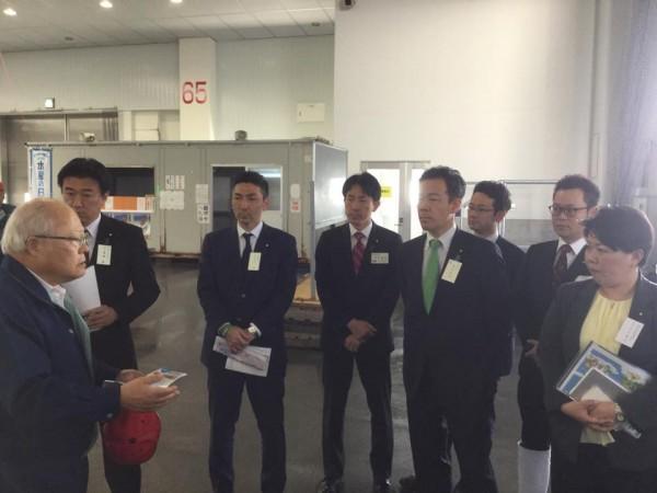 石巻魚市場視察(TEAM-11)