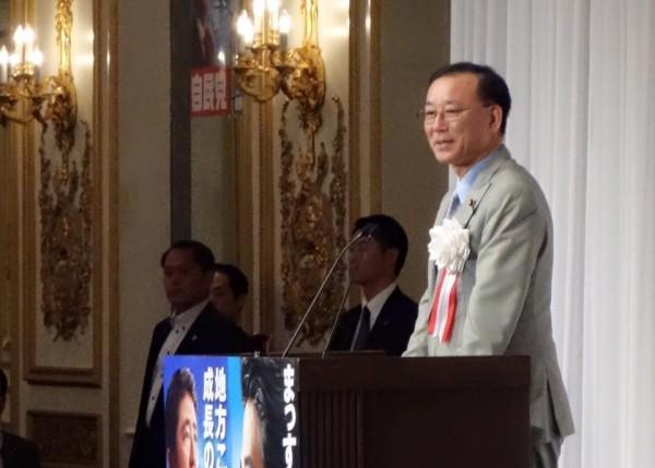 谷垣禎一自民党幹事長講演