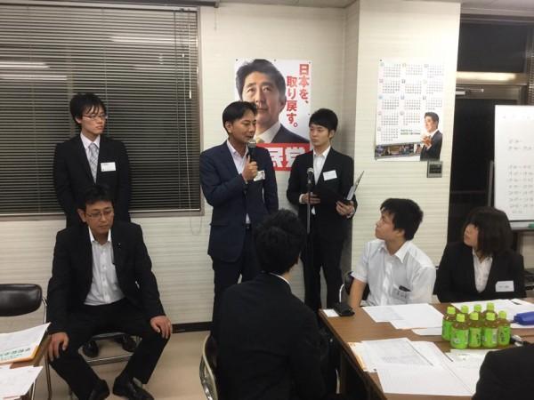 佐々木幸士青年局長あいさつ