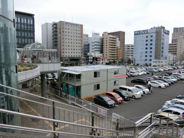事務所開き③(場所:仙台駅東口ヨドバシカメラ駐車場)
