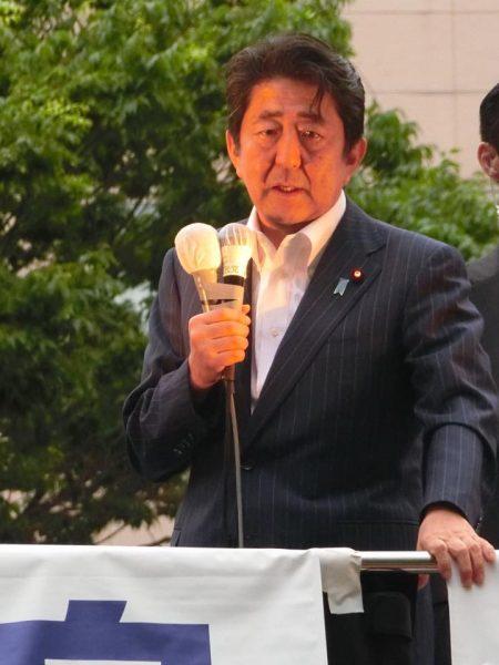 安倍総裁街頭IN仙台②