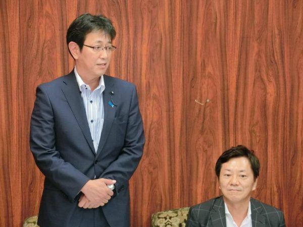 石川光次郎幹事長あいさつ