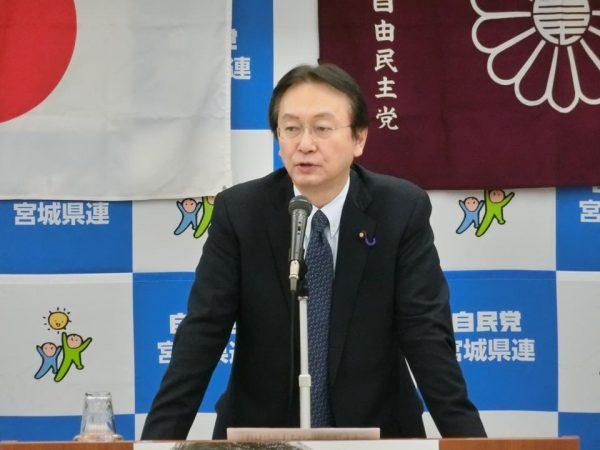 江渡 聡徳 党平和安全法制推進本部長・元防衛大臣のご講演と質疑応答